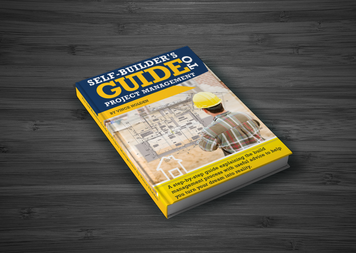 Book Cover Design for Self Builders Guide