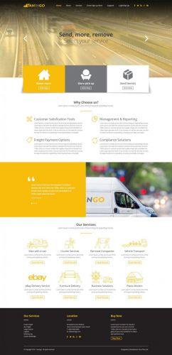 Website Design for Van In Go